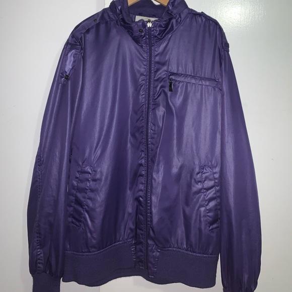 Purple Zip Up